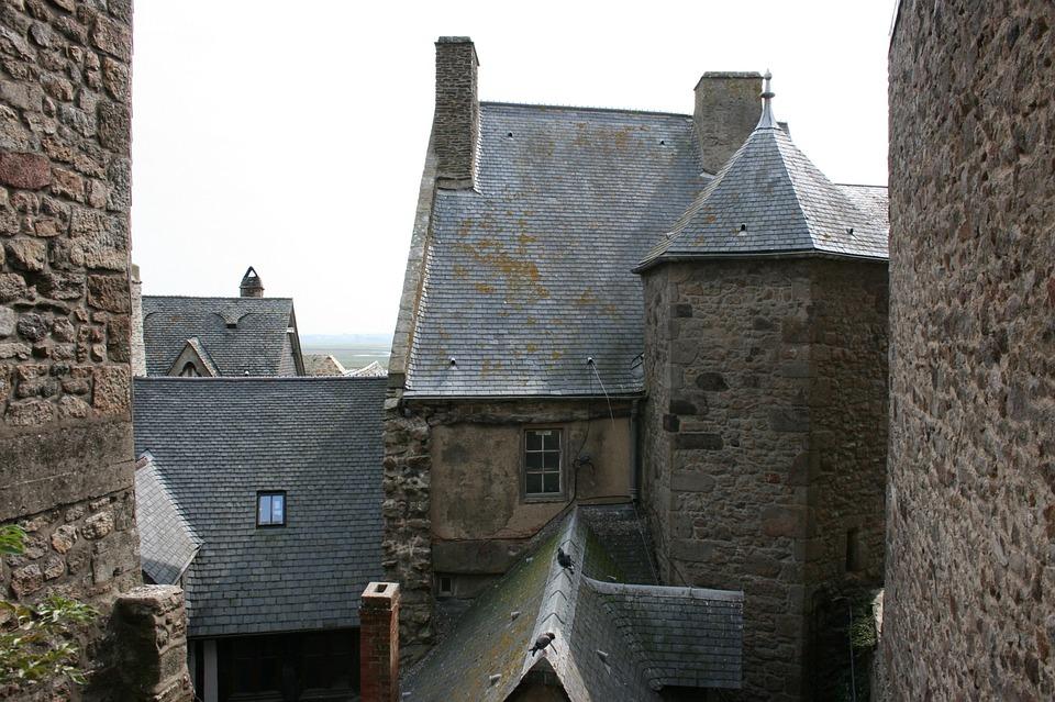 Mont Saint-michel, Abbey, Normandy, France, Middle Ages