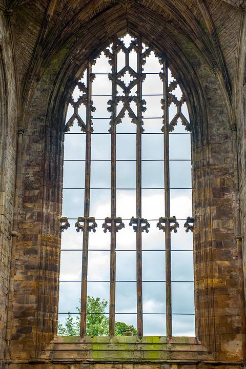 Melrose Abbey, Abbey, Scotland, Church, Stone, Medieval