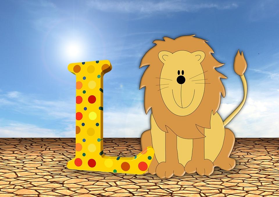 Letters, Abc, Education, Lion, Alphabet, Literacy