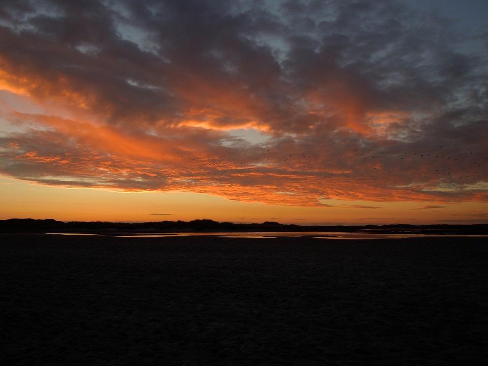 Afterglow, Sky, Clouds, Evening Sky, Abendstimmung