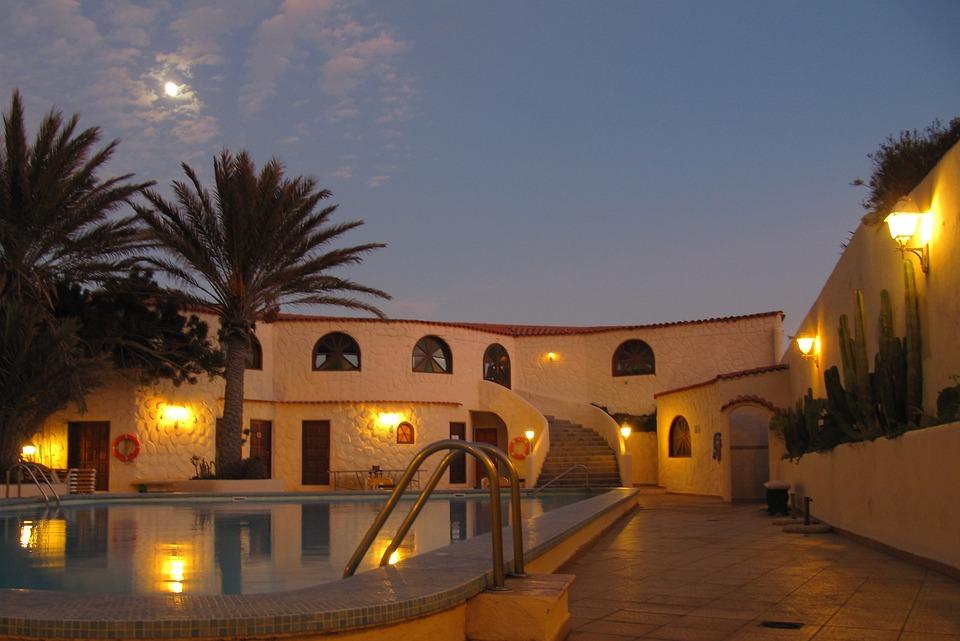 Tenerife, Hotel, Abendstimmung