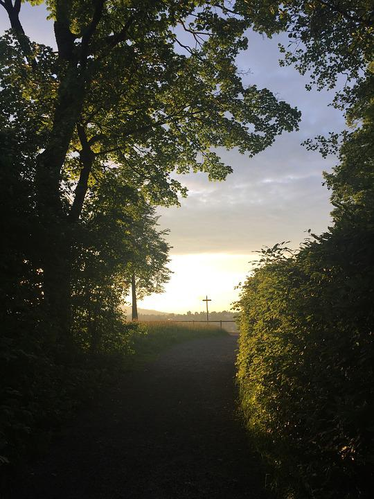 Sunset, Abendstimmung, Nature, Romance, Evening