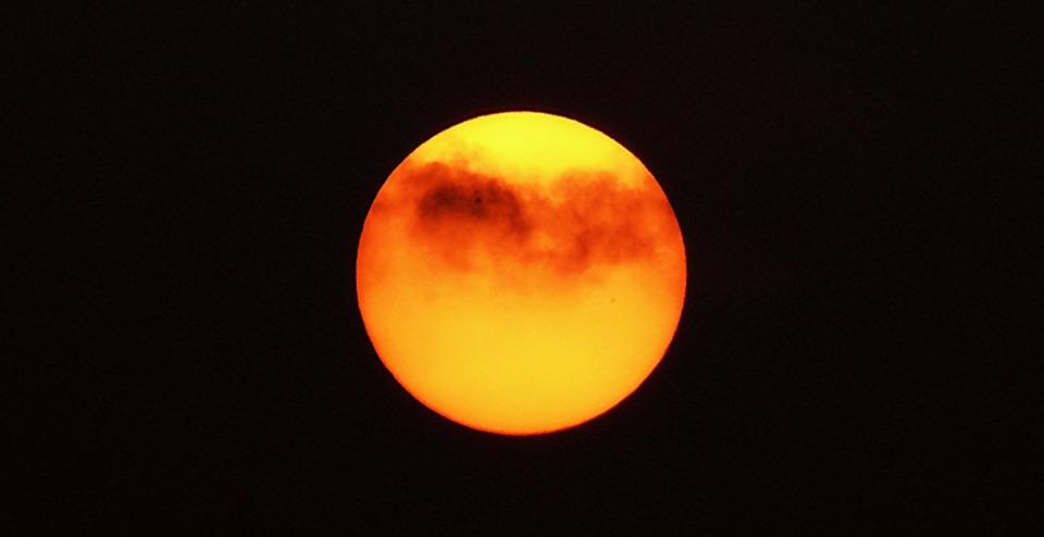 Abendstimmung, Sunset, Evening, Evening Sky, Clouds