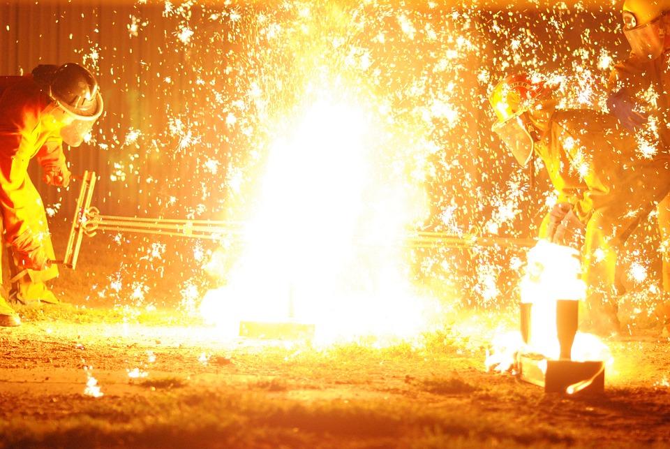 Boom, Sparkle, Ablaze, Fireworks, Wow, Light