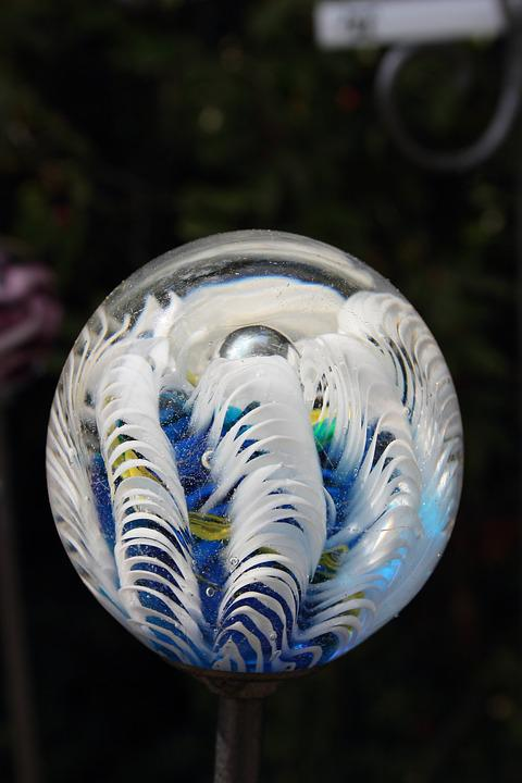 Glass Ball, Glass, About, Transparent, Colorful, Clear