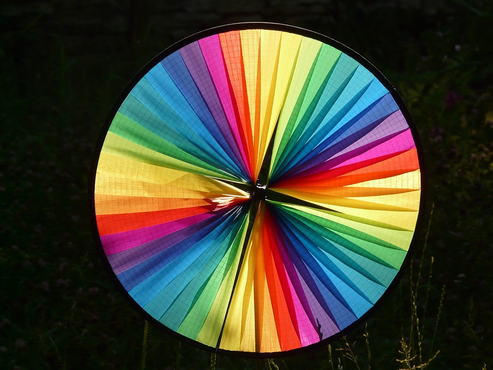 Pinwheel, Wind, Colorful, Color, District, About