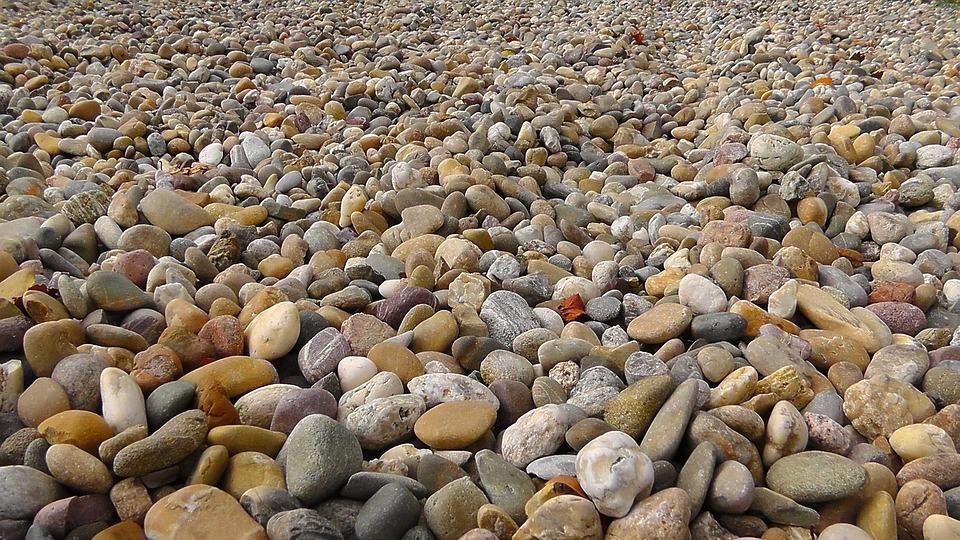 Pebbles, Stones, About, Steinig, Plump, Nature