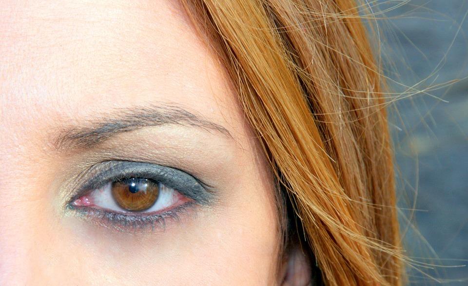 Eye, Brown, Iris, Yellow, Girl, About, Nice