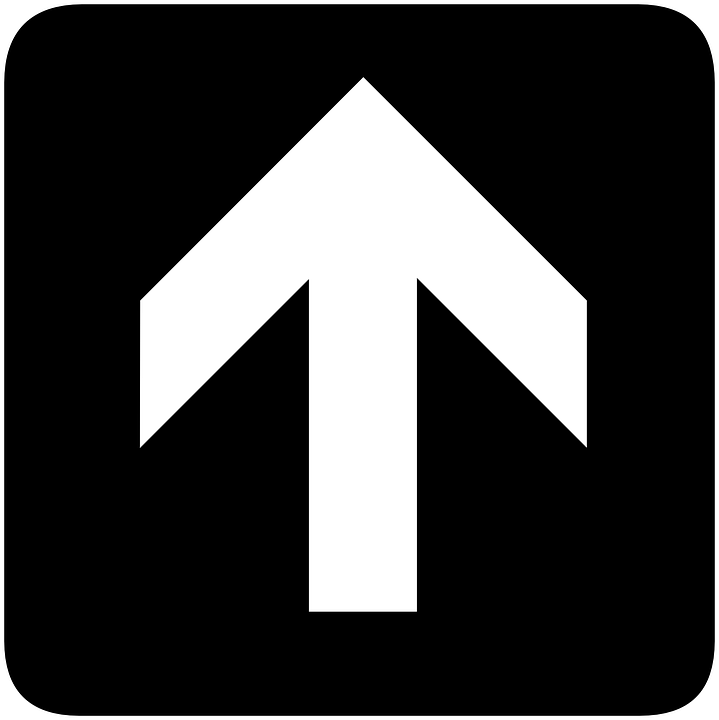 Arrow, Direction, Pointing, Information, Above, Sign