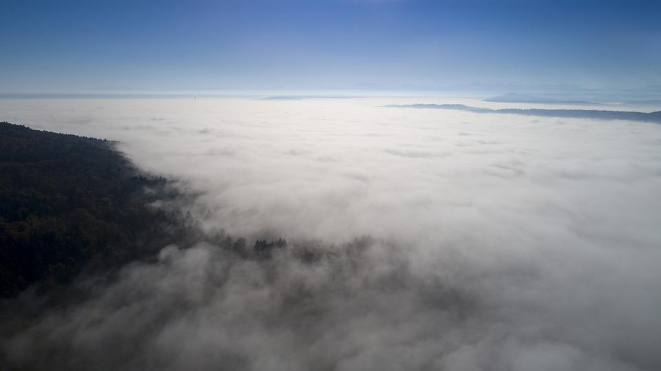 Above The Clouds, Fog, Clouds, Thunderstorm, Storm
