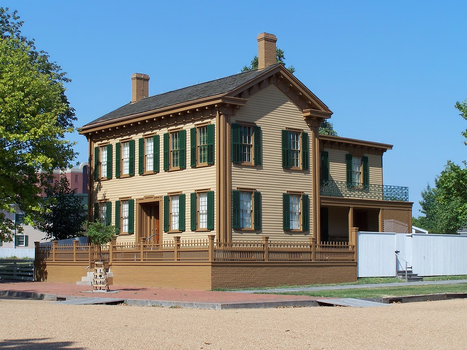 Abraham Lincoln, House, Home, Historical, Destinations