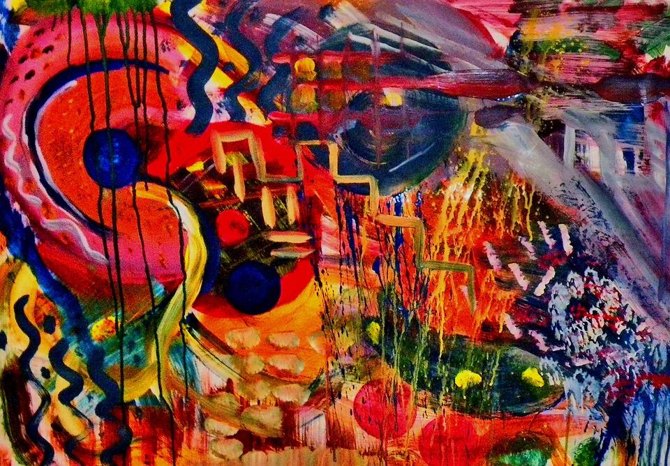 Painting, Modern Art, Art, Abstract