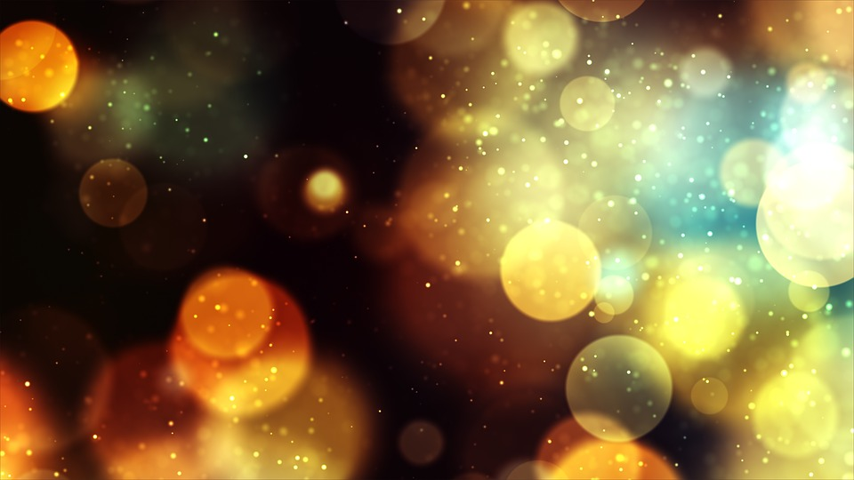 Colors, Bokeh, Lights, Abstract, Background