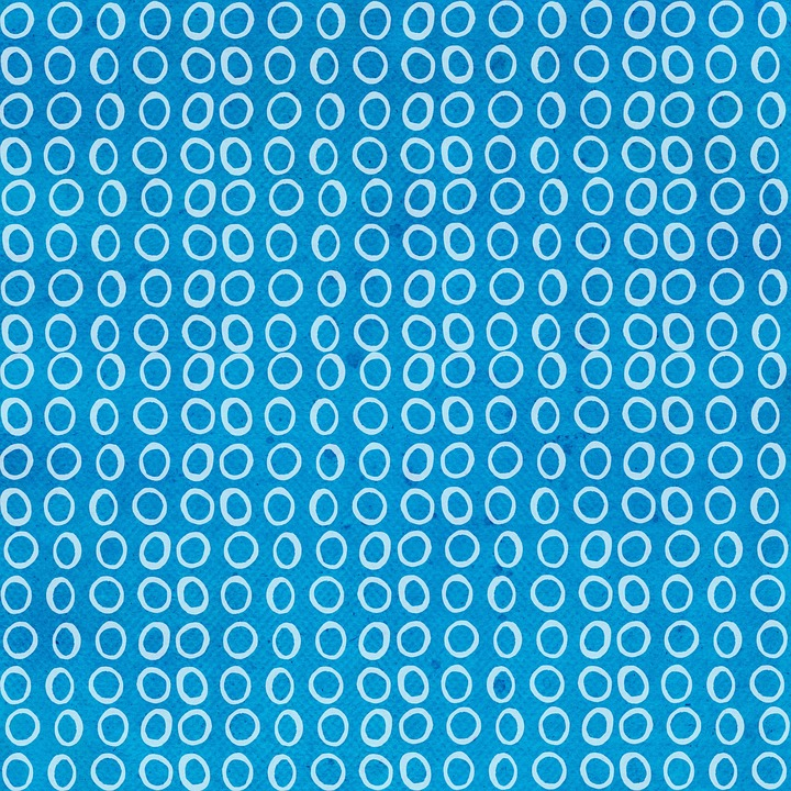 Blue, Retro, Abstract, Background, Scrapbooking, Craft