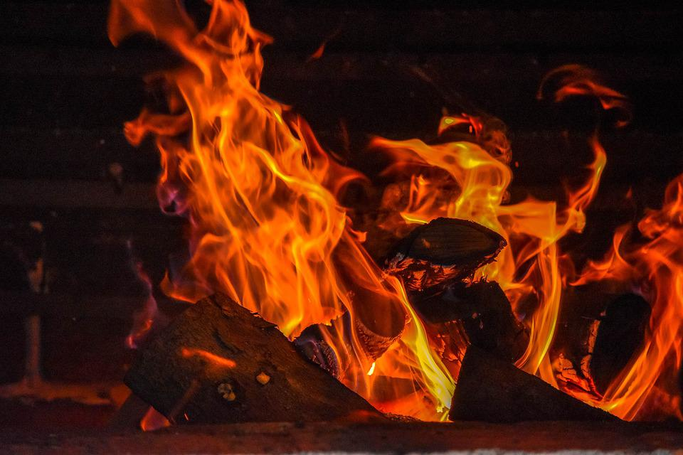 Fire, Hot, Abstract, Burn, Flame