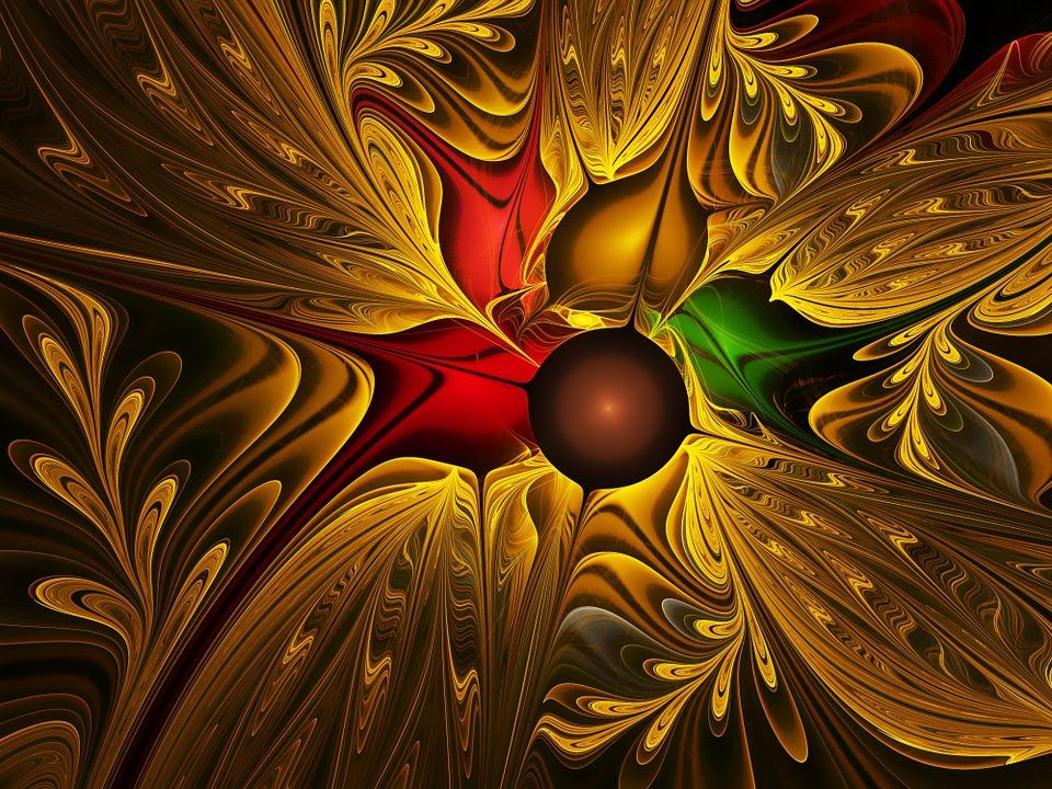 Apophysis, Fractal, Flower, Abstract, Fantasy