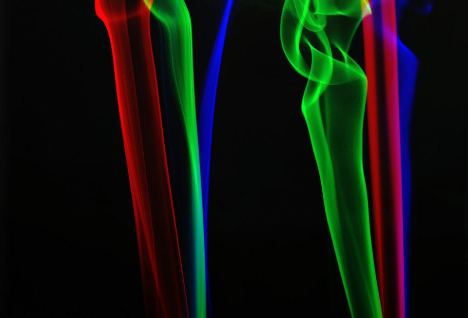 Smoke, Abstract, Colours, Glowing