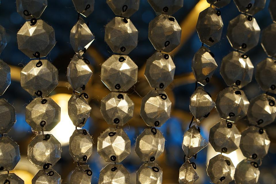 Chandelier, Light, Abstract, Design, Pattern