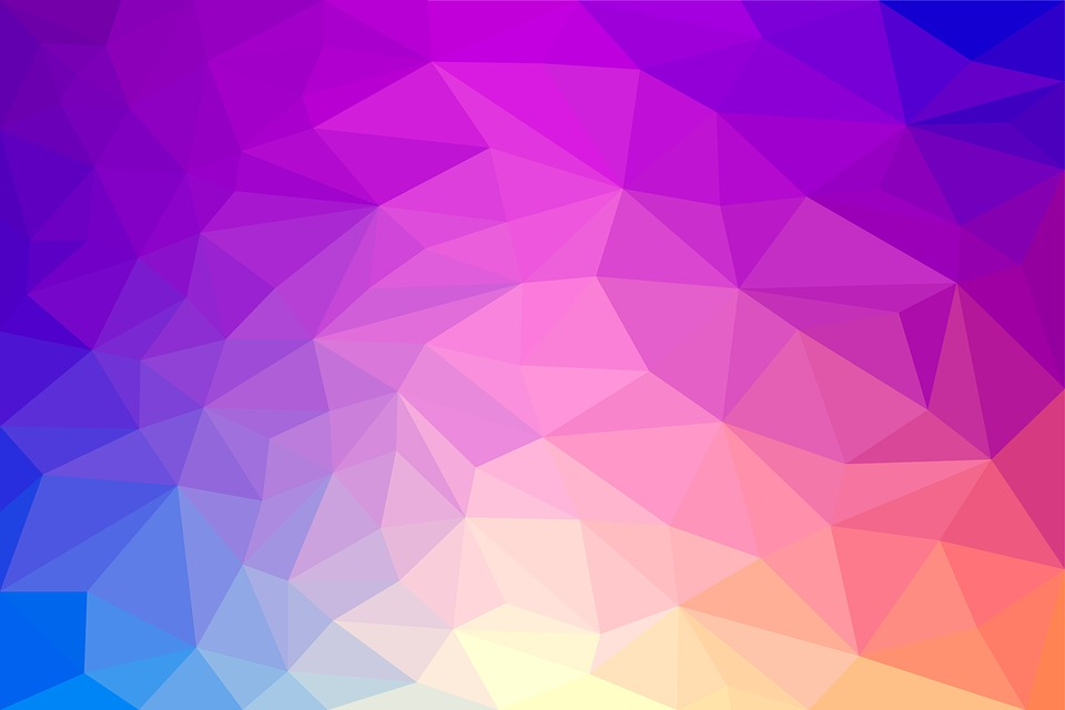 Low-poly, Triangle, Pattern, Background, Abstract