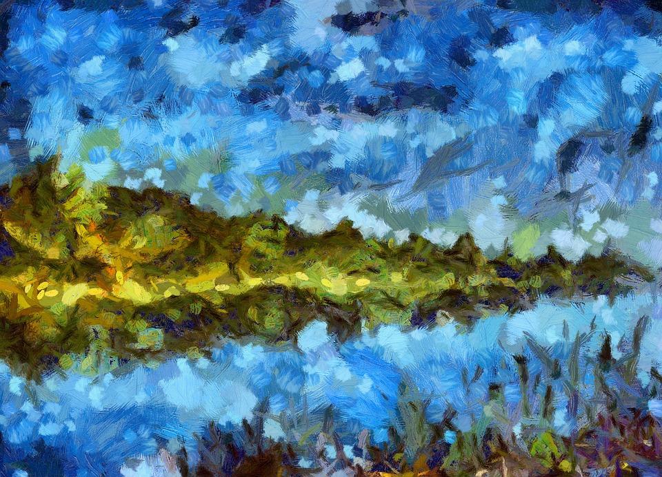free photo abstract nature brush beauty landscape art max pixel