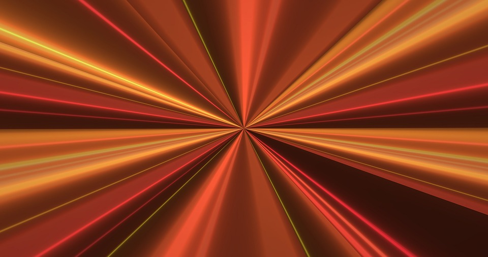 Abstract, Beams, Rays, Background, Pattern, Metallic
