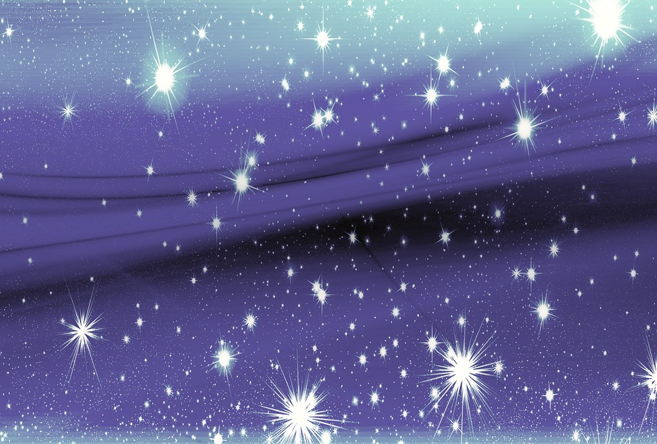 Background, Star, Pattern, Abstract, Night Sky