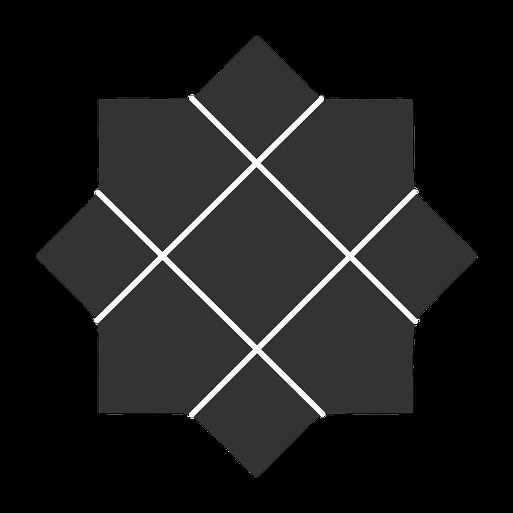 Patterns, Geometric, Shapes, Black, Abstract, Regular