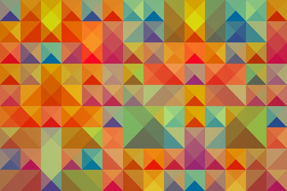 Background, Abstract, Square, Triangle, Geometric