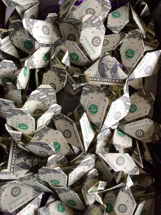 Abundance, Wealth, Currency, Origami, Paper