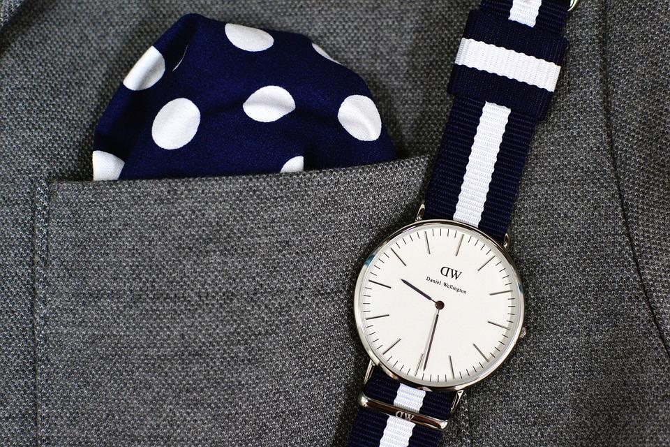 Accessory, Watch, Pocket Square, Fashion, Time, Design