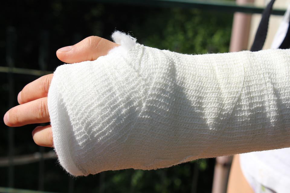 Injury, Orthopedics, Chalk, Bandage, Care, Accident