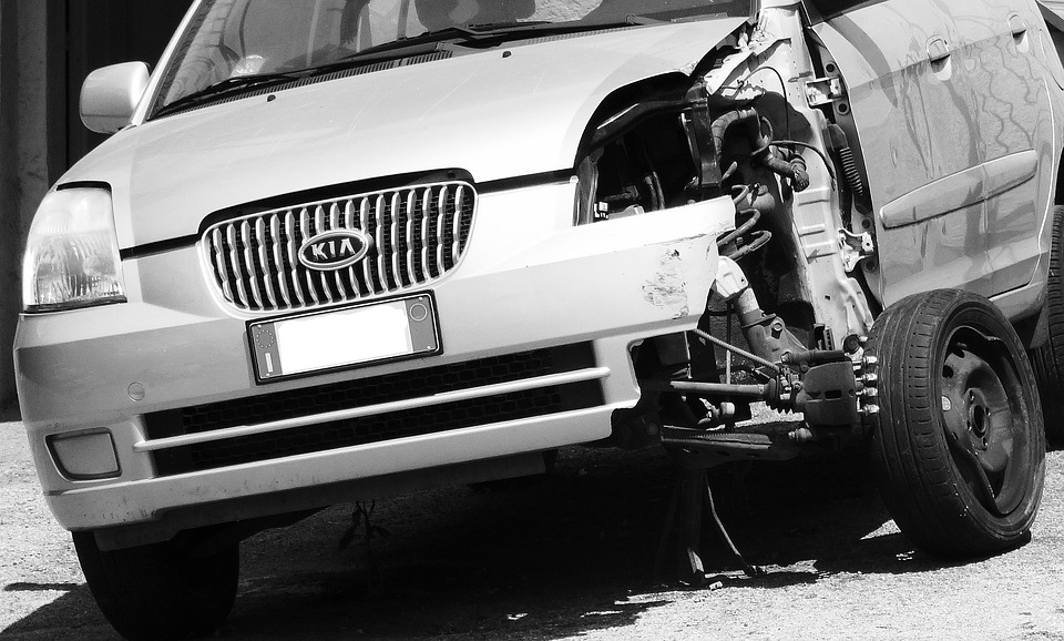 Car Wrecked, Accident, Collision