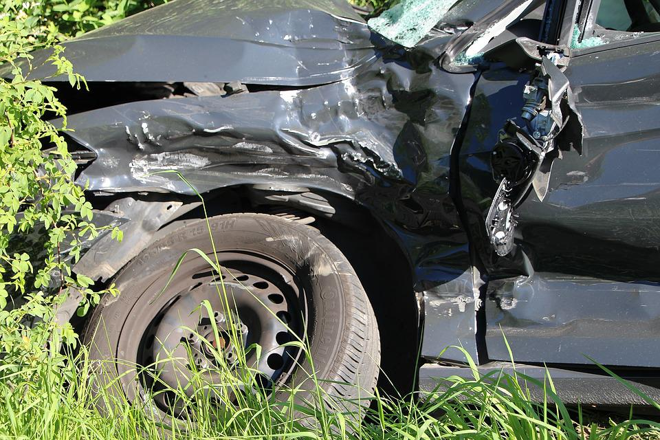 Accident, Ditch, Traffic Accident, Injured, Collision