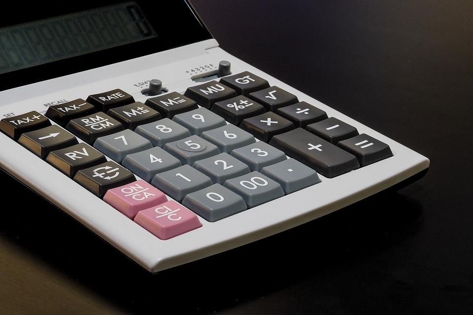 Calculator, Calculation, Account, Financial, The Bank