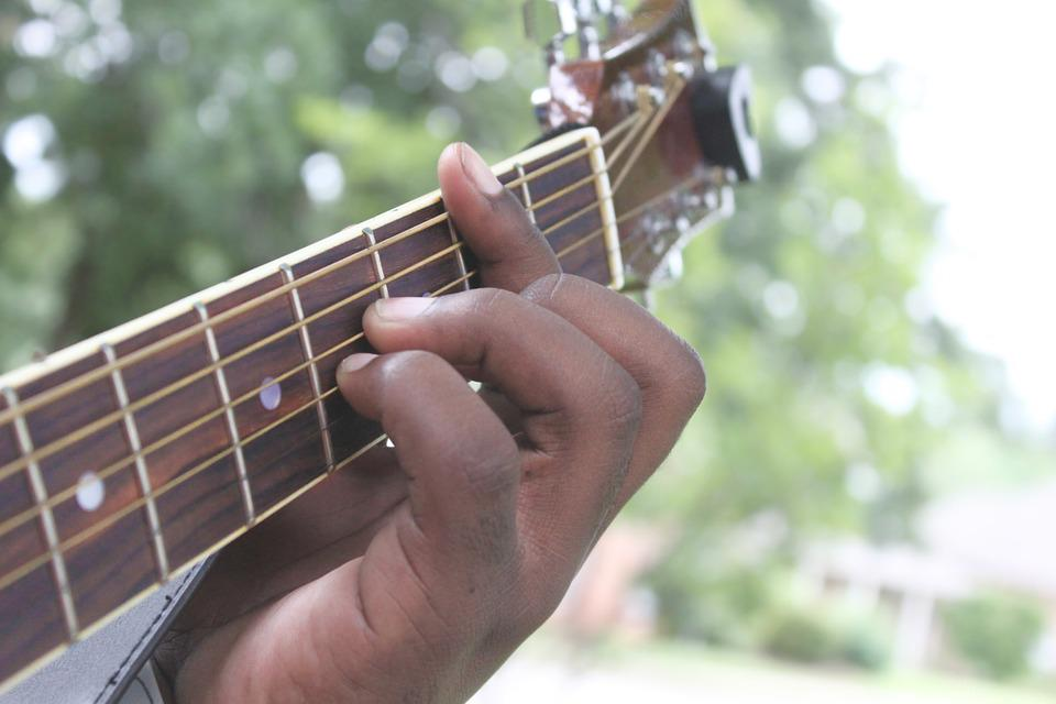 Free photo Acoustic Guitar Chords Instrument Fingers Guitar - Max Pixel