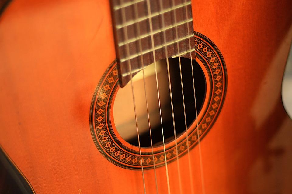 Guitar, Strings, Instrument, Acoustic Guitar