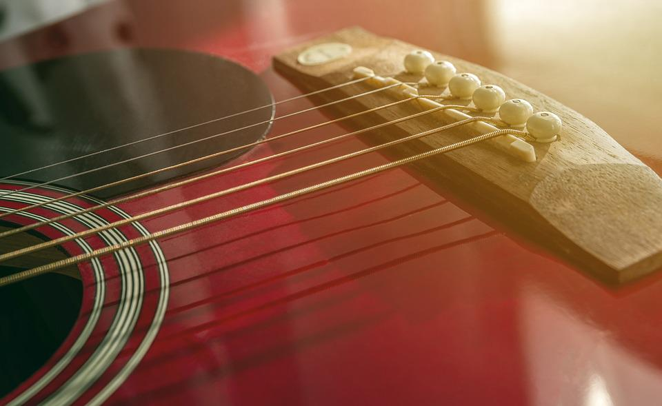 Acoustic, Guitar, Strings, Music, Instruments
