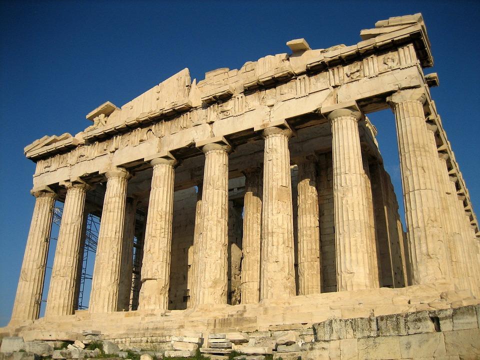 ATHENS, GREECE - CIRCA 2017: Athens Greece Parthenon Temple On ...