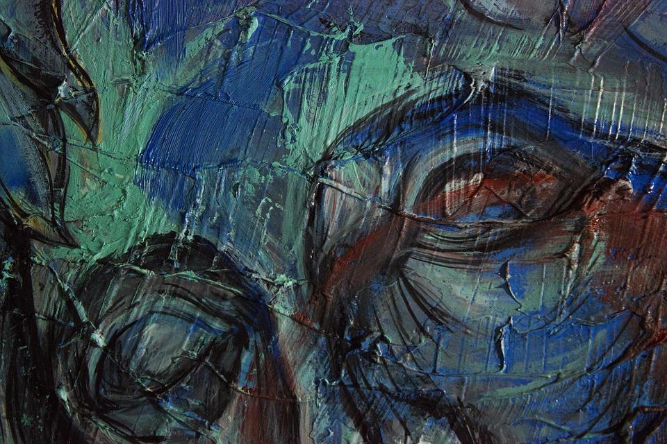 Art, Picture, Illustration, Palette, Color, Acrylic