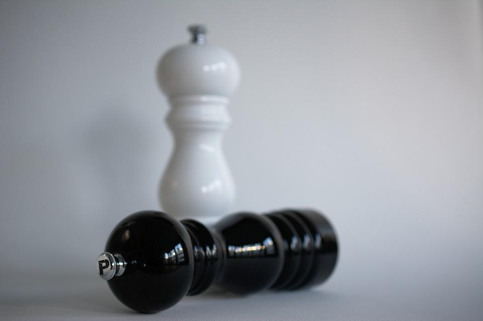 Salt Pepper, Salt, Pepper, Pepper Mill, Acrylic, Mill