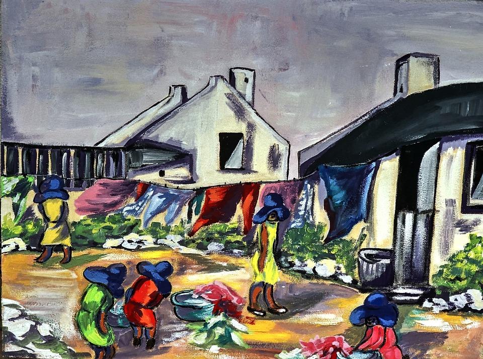 Painting, Acrylic Paint, Canvas, Brush Strokes