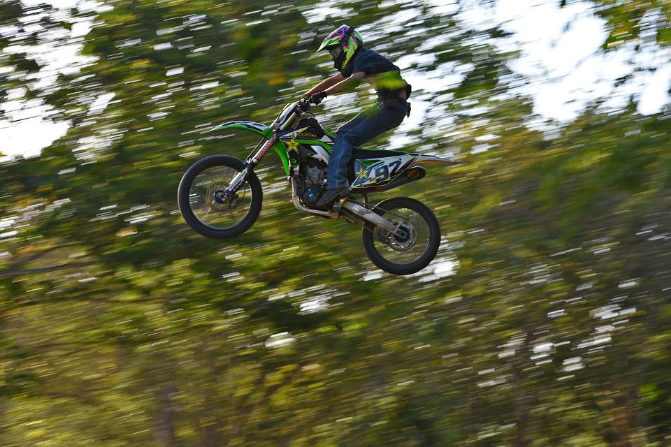 Wheel, Bike, Action, Leisure, Biker, Motocross
