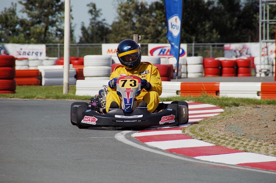 Competition, Action, Kart, Go-karting, Drive, Amateur