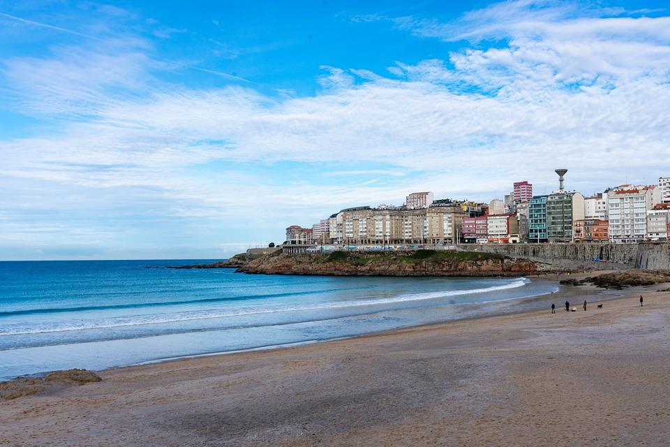 Beach, Coast, Active, Background, Calm, City, Europe