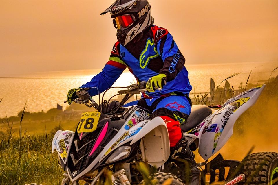 Motocross, Quad, Sport, Driver, Adventure, Active, Dirt