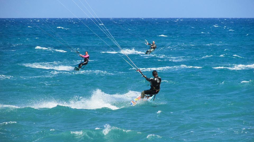 Kiteboarding, Kite, Surf, Sport, Sea, Surfer, Active