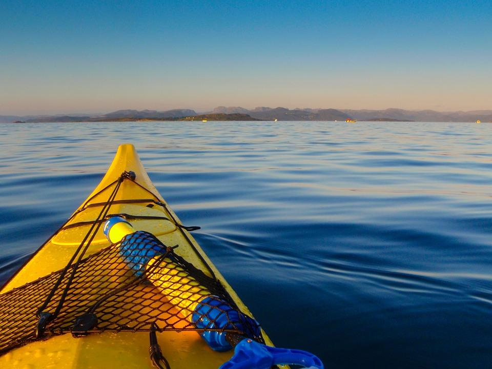 Kayak, Water, Blue, Leisure, Activity, Outdoor