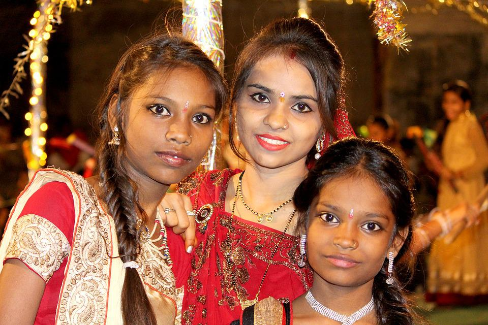 People, Festival, Actress, Portrait, Party, Navratri