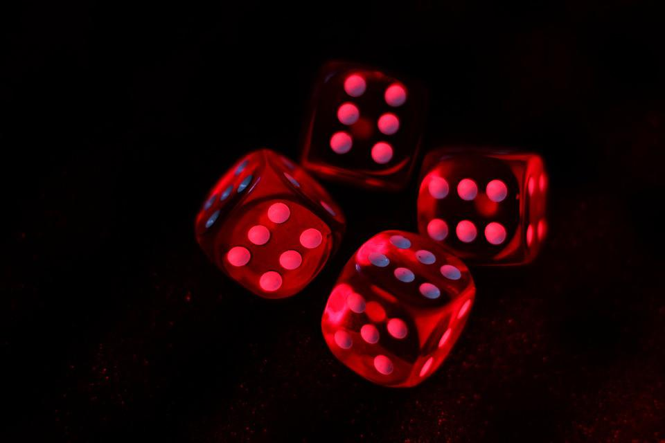 Cube, Red Light, Casino, Instantaneous Speed, Addiction
