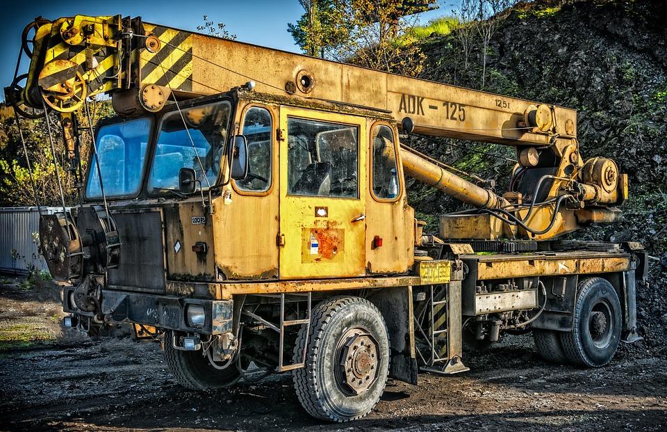 Crane, Auto Crane, Adk 125, Raise, Weight, Last, Lift